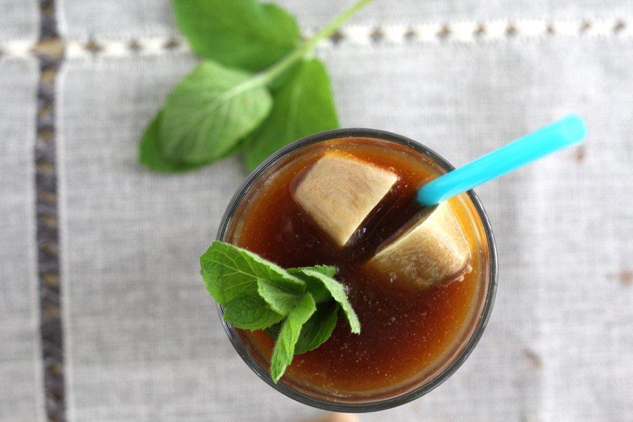 Mint Chocolate Iced Coffee
