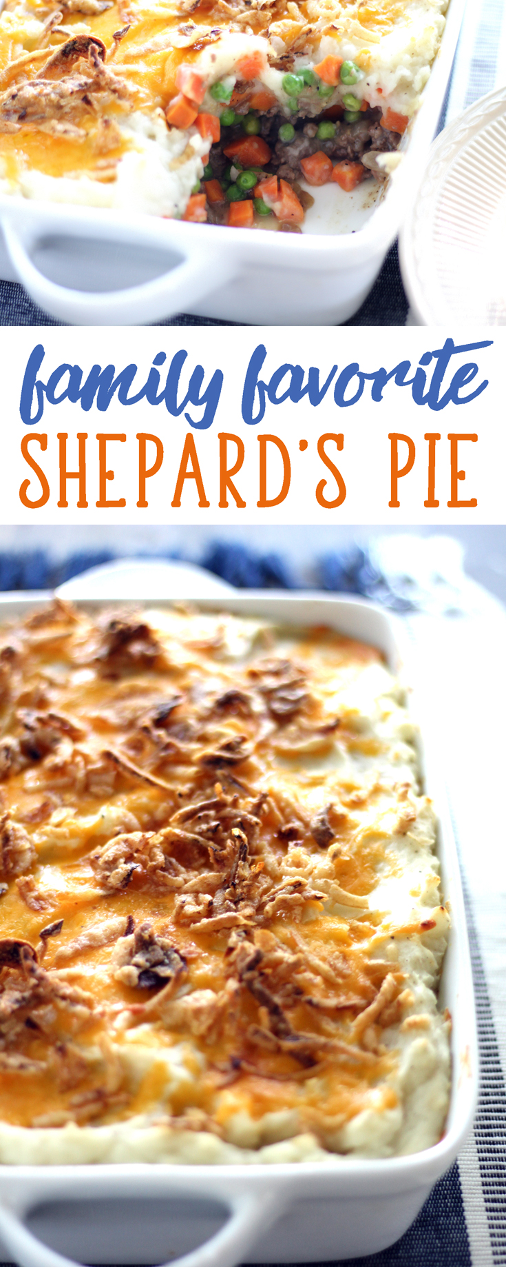 Our family loves Shepards Pie. When I ask,