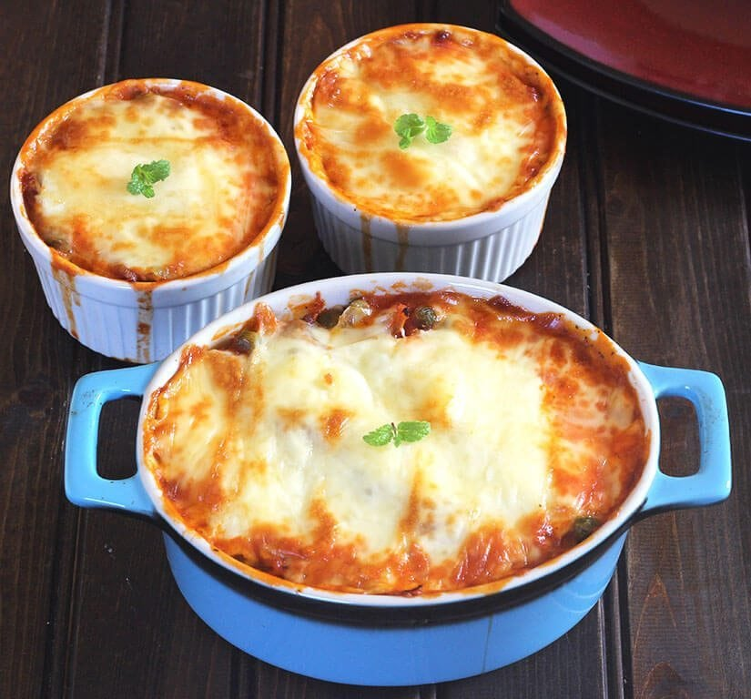 Weeknight Dinner Recipes Spaghetti Squash Lasagna by Cook With Kushi