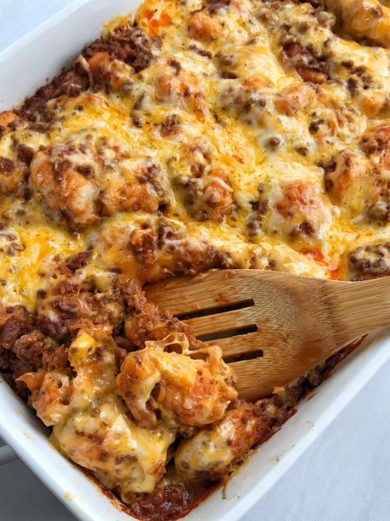 Weeknight Dinner Recipes Taco Biscuit Bake by Together as a Family