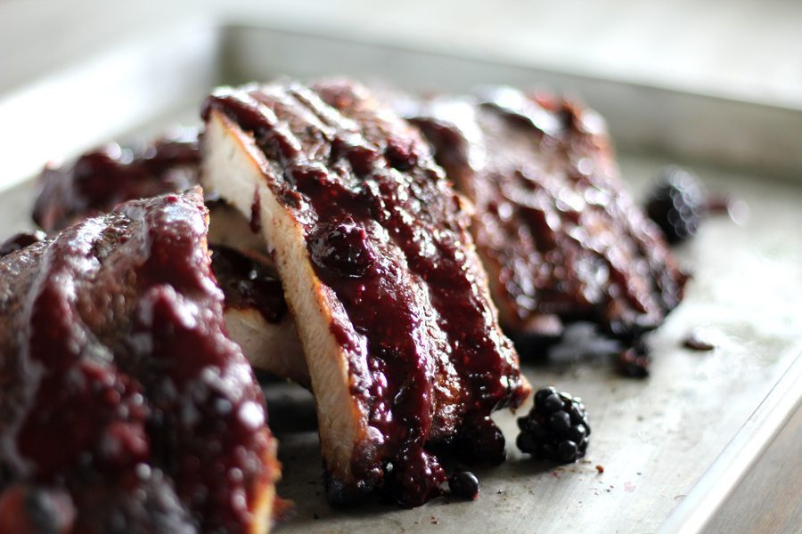Wild Blackberry BBQ Sauce
