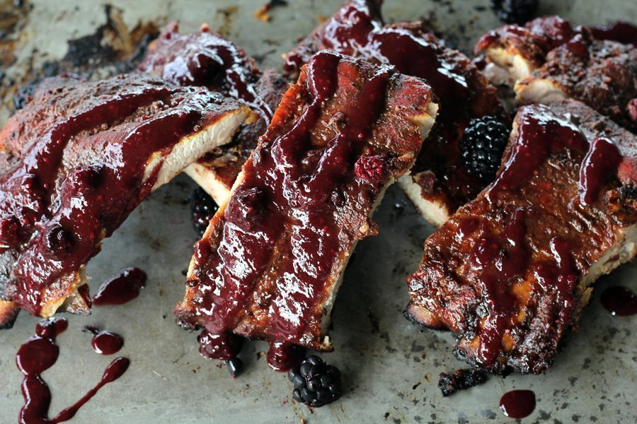 Sweet, fruity and tangy, our Wild Blackberry BBQ Sauce is lip-smacking good. Try it on ribs, chicken, more. Made with fresh hand-picked wild blackberries.