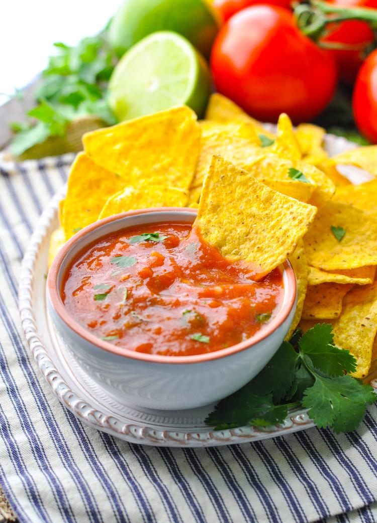 Fresh 5 Minute Salsa   21 Best Salsa Recipes