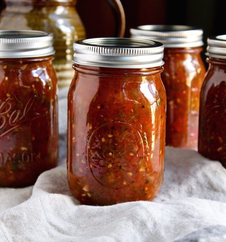 Fire Roasted Salsa Canning Recipe | 21 Best Salsa Recipes
