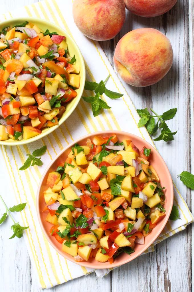 Peach Salsa with Secret Ingredient | 21 Best Salsa Recipes