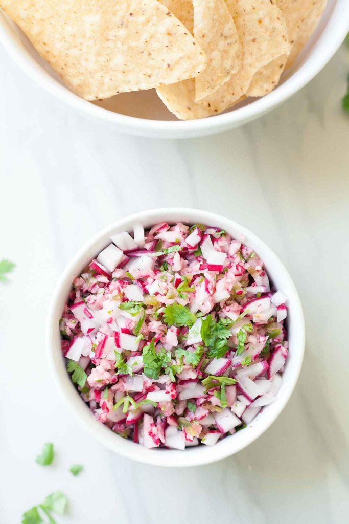 Radish Salsa | 21 Best Salsa Recipes