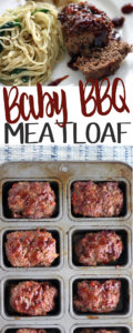 Baby BBQ Meatloaf