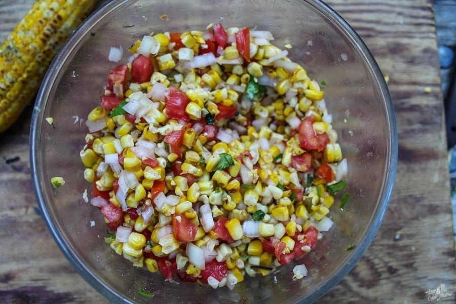 Campfire Corn Salsa | 21 Best Salsa Recipes