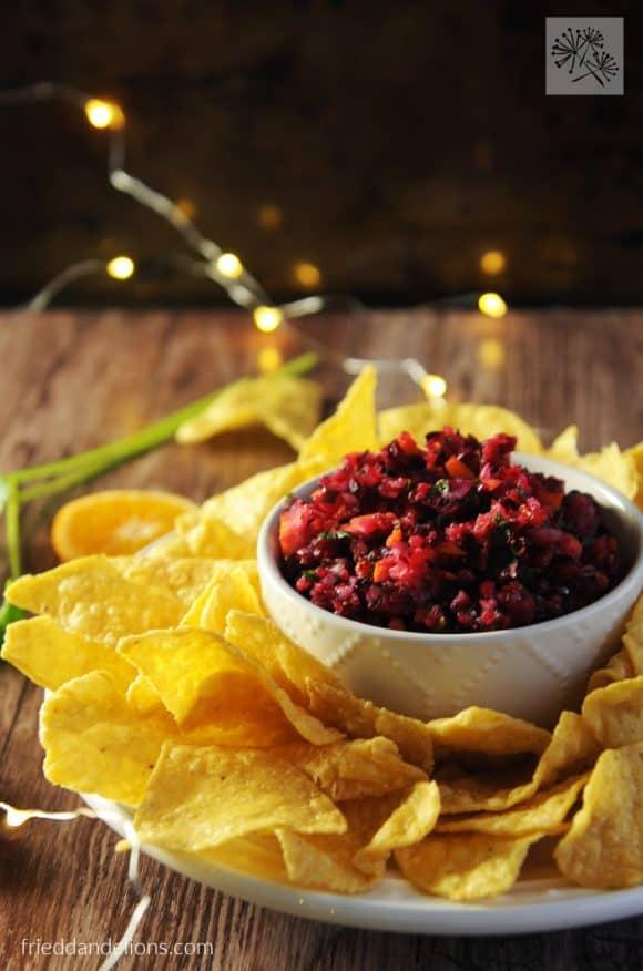 Cranberry Salsa   21 Best Salsa Recipes