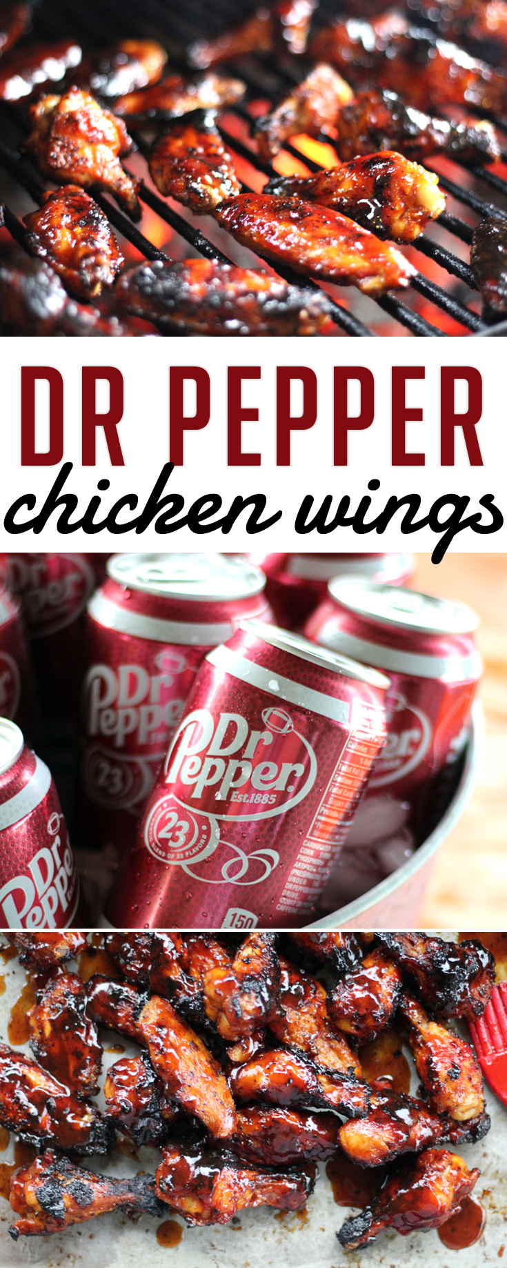 Dr Pepper Chicken Wings