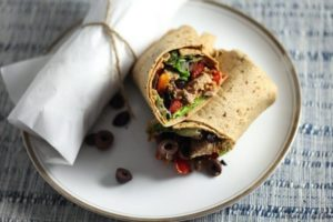 Spanish Pork Pepper Sandwich Wraps