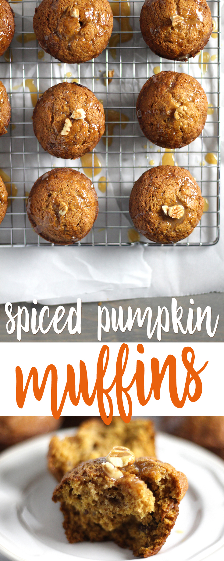 The hug-me smell of spices is enough reason to make Spiced Pumpkin Muffins. If you want your house to smell like all things Fall, muffin recipe is for you. #pumpkinmuffins