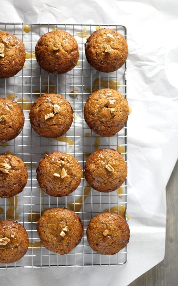 The hug-me smell of spices is enough reason to make Spiced Pumpkin Muffins. If you want your house to smell like all things Fall, muffin recipe is for you.