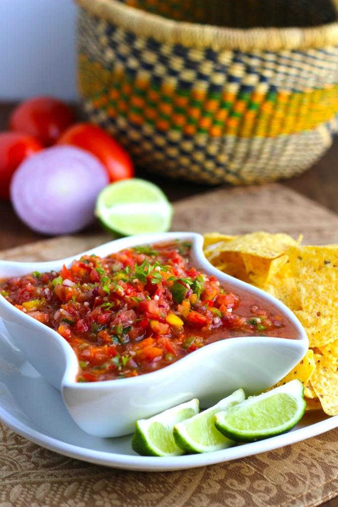 Secret Ingredient Cilantro Lime Salsa | 21 Best Salsa Recipes