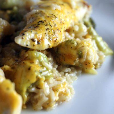 Easy Cheddar Chicken Broccoli Casserole
