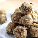 Almond Oatmeal No Bake Energy Bites – Perfect for Breakfast + Snacking