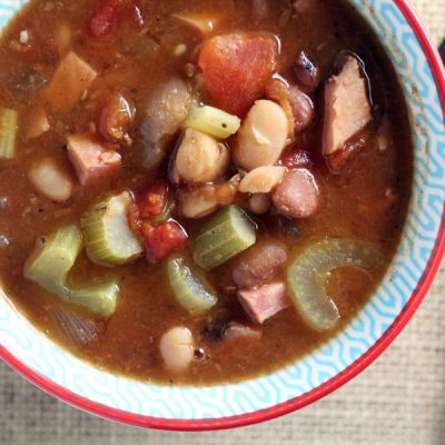 The Best Ham and Bean Soup. Ever.