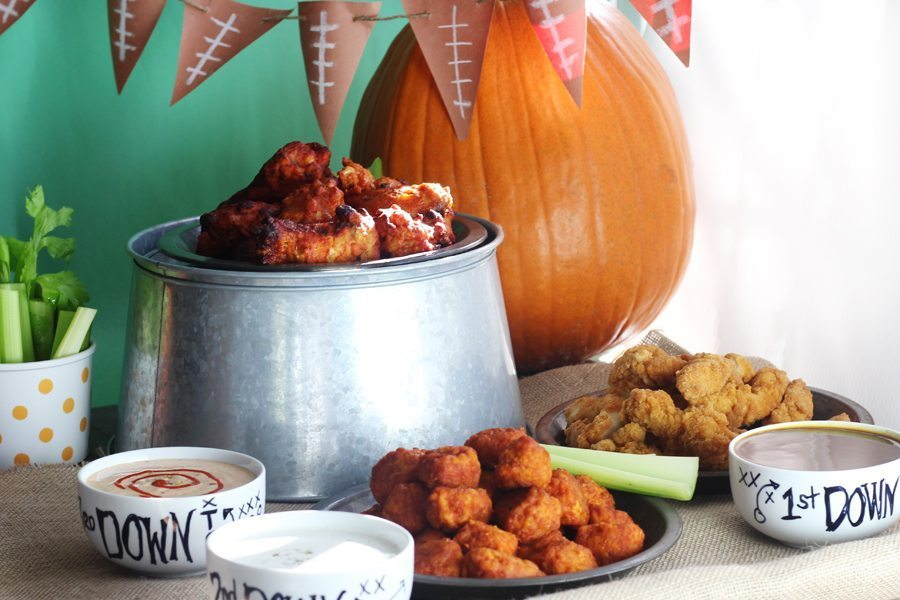 Food, drink and decor ideas for your next football party. Budget friendly.
