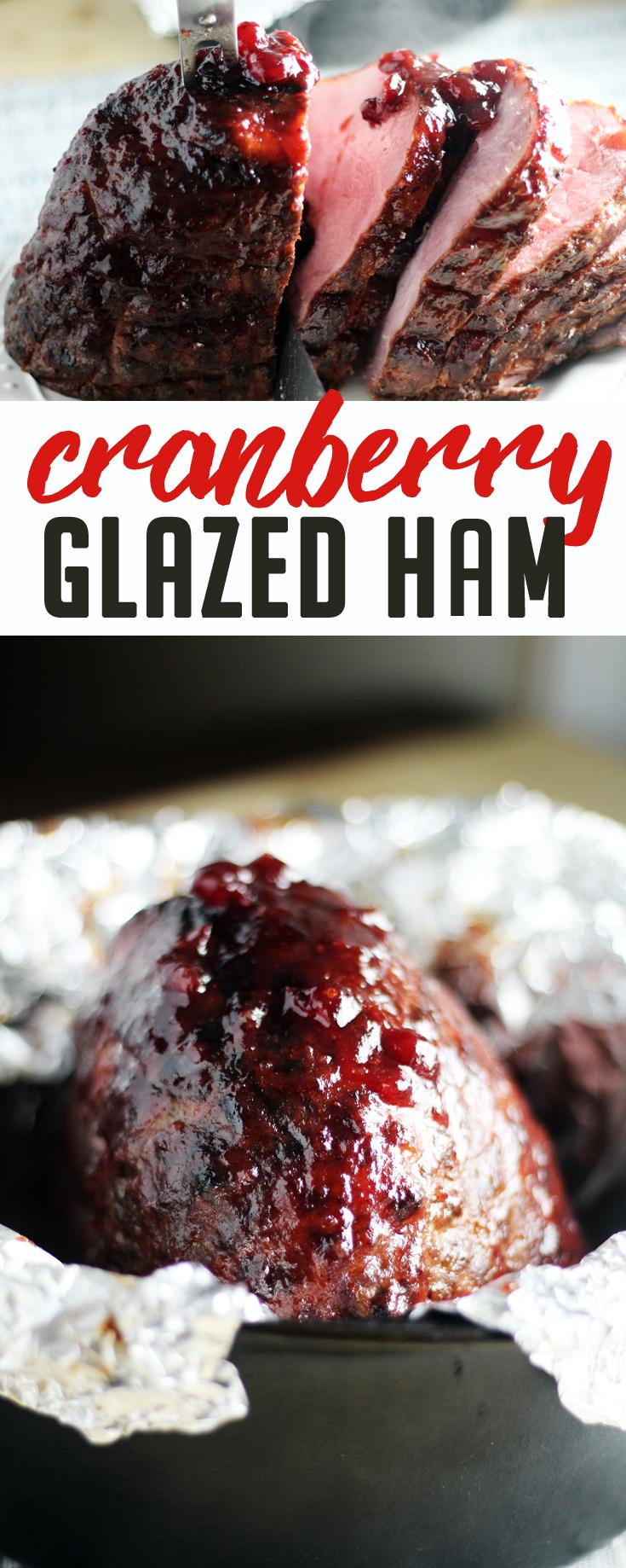 Cranberry Glazed Ham