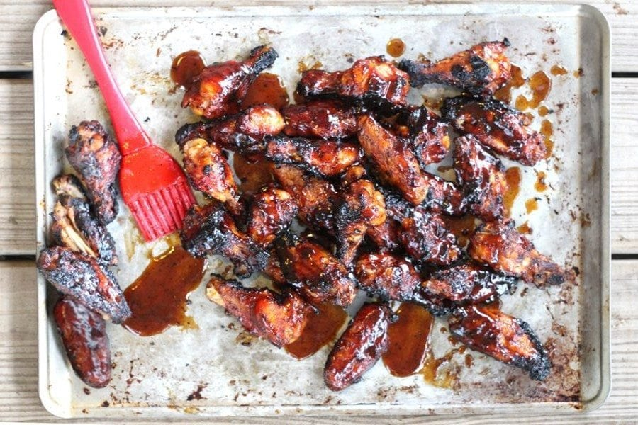 Dr Pepper Chicken Wings