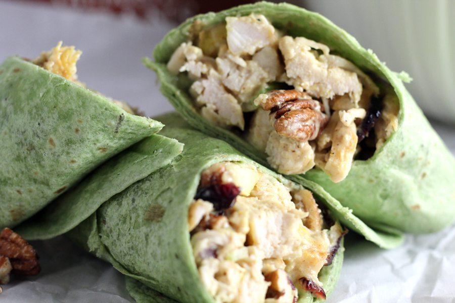 Pecan Chicken Wraps