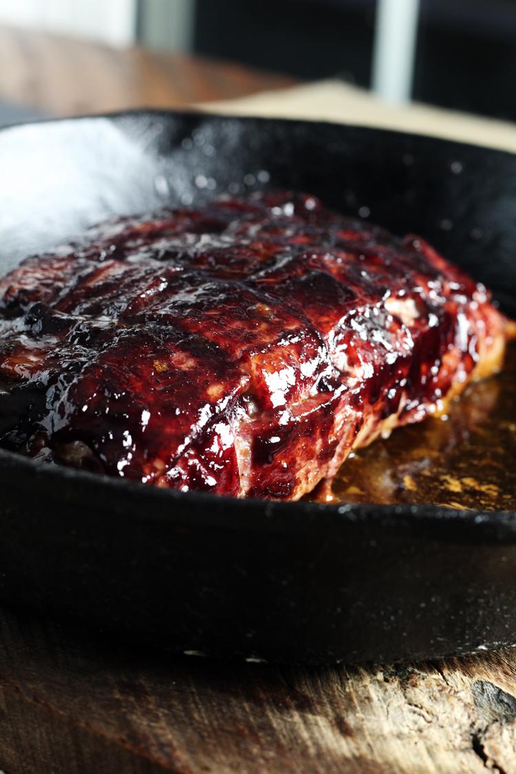 Cherry Bacon Pork Tenderloin may be my new favorite way to eat pork.