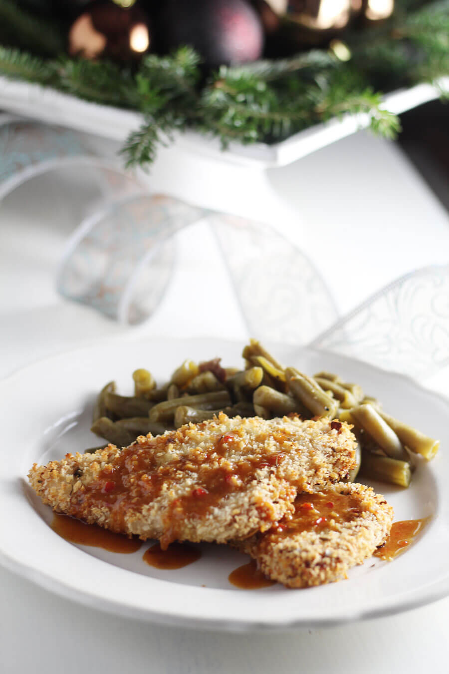 Savory and cripsy Panko Crusted Turkey Breast cutlets are a simple meal to enjoy. Serve alongside our easy sweet mustard soy sauce.