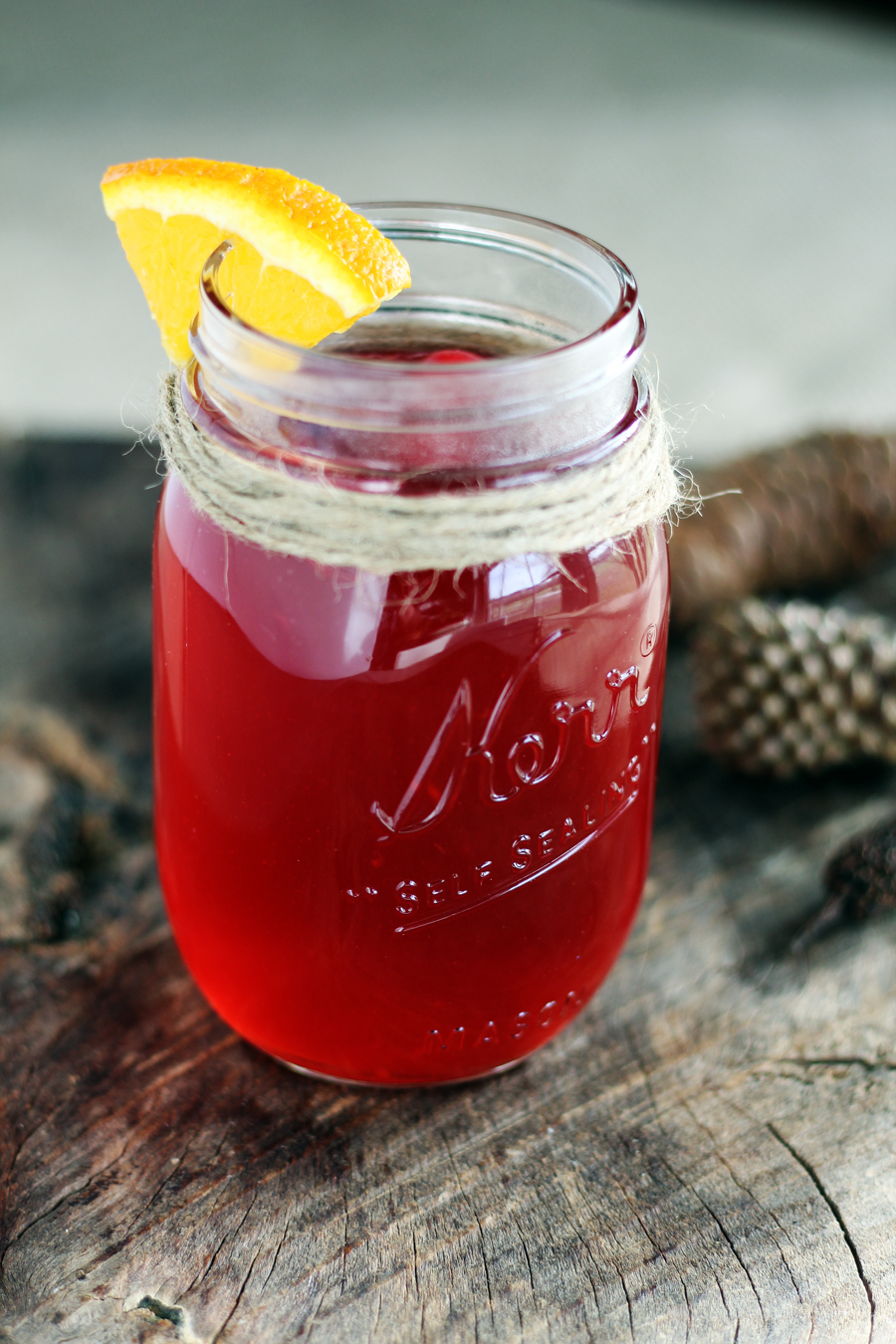 Warm + Cozy Spiced Cranberry Apple Cider | Buy This Cook That
