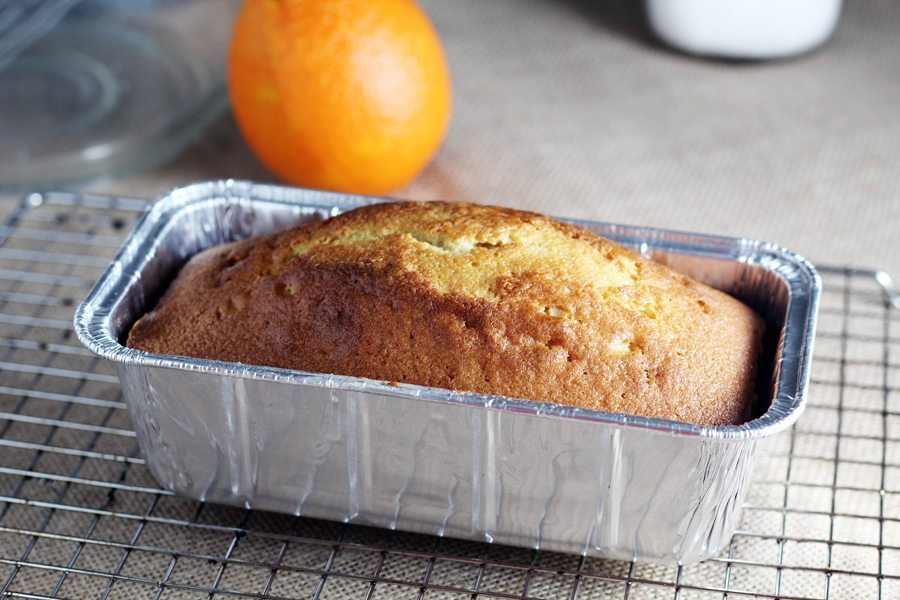 A delicious golden pound cake was the beginning of our spiced rum bread pudding.