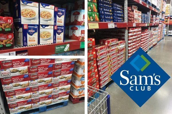 Shop at Sam's Club for chicken + rice casserole essentials.