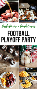 From first downs to touchdowns, we've got a DIY party tutorial for your College Football Playoff Party.