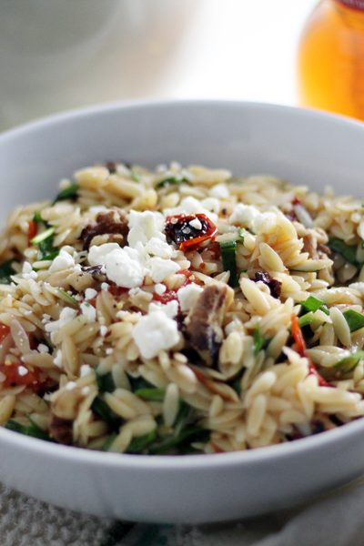 Fire Roasted Tomato Orzo Pasta