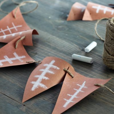 Fast + Easy Football Banner DIY