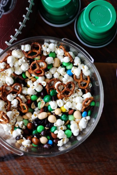Gridiron Gameday Party Mix for the Big Game