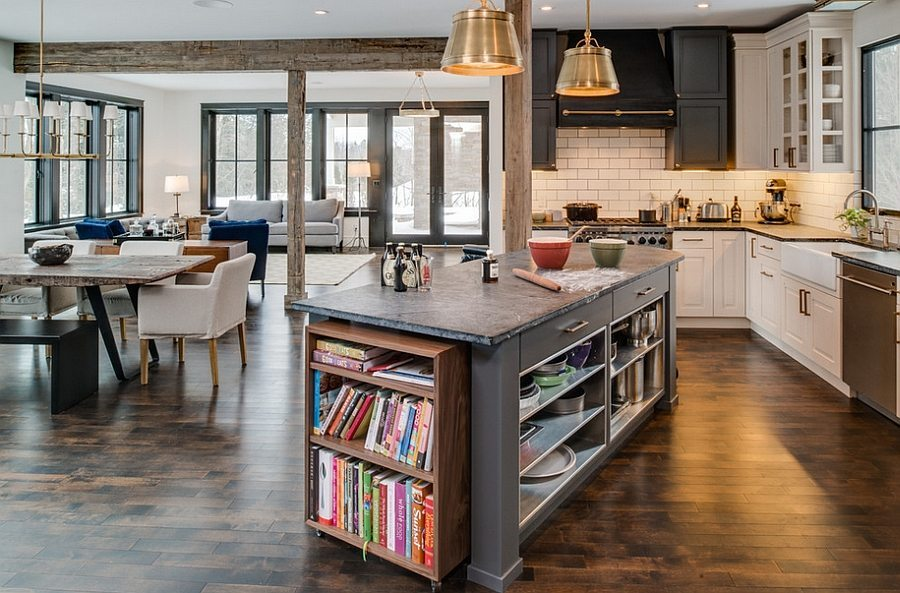 Can we say love? Kitchen Islands done right.