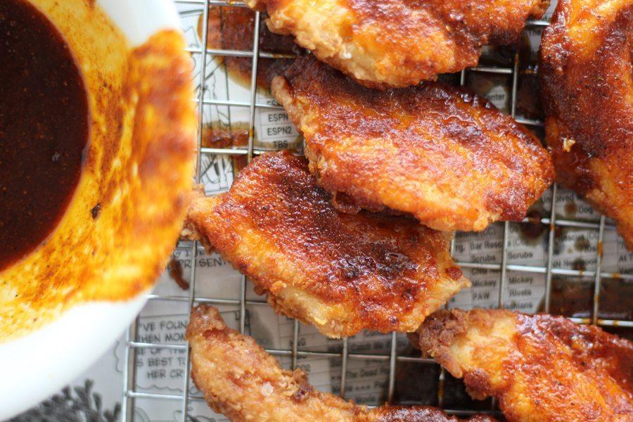 Easy, full of flavor and snack worthy...Nashviolle Hot Chicken Quesadillas