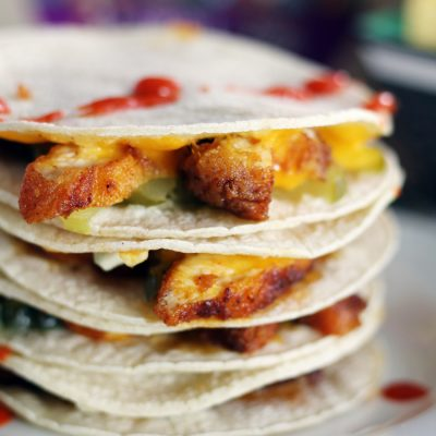 Nashville Hot Chicken Quesadillas (and Tacos)