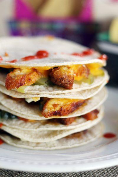 Nashville Hot Chicken Quesadillas (and Tacos)