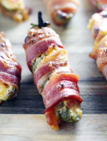 Game day. Today. Any day. These Pimento Cheese Bacon Jalapeno Poppers are legit snack time winners.