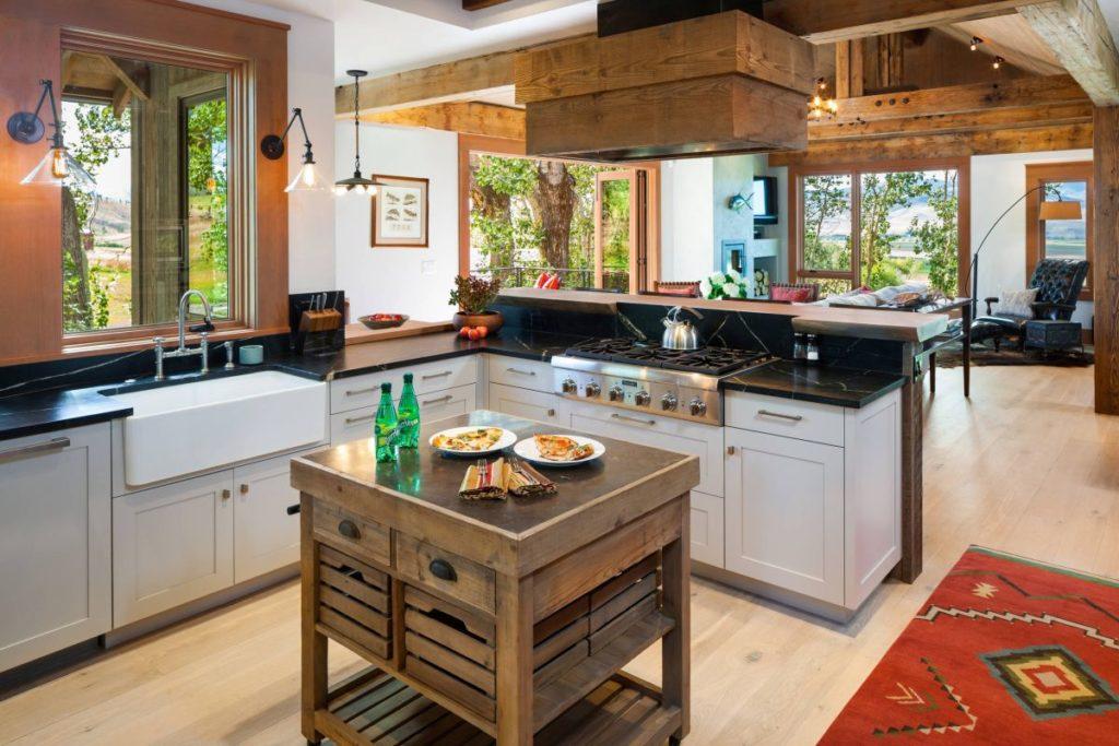 Max function in minimum space, kitchen islands.