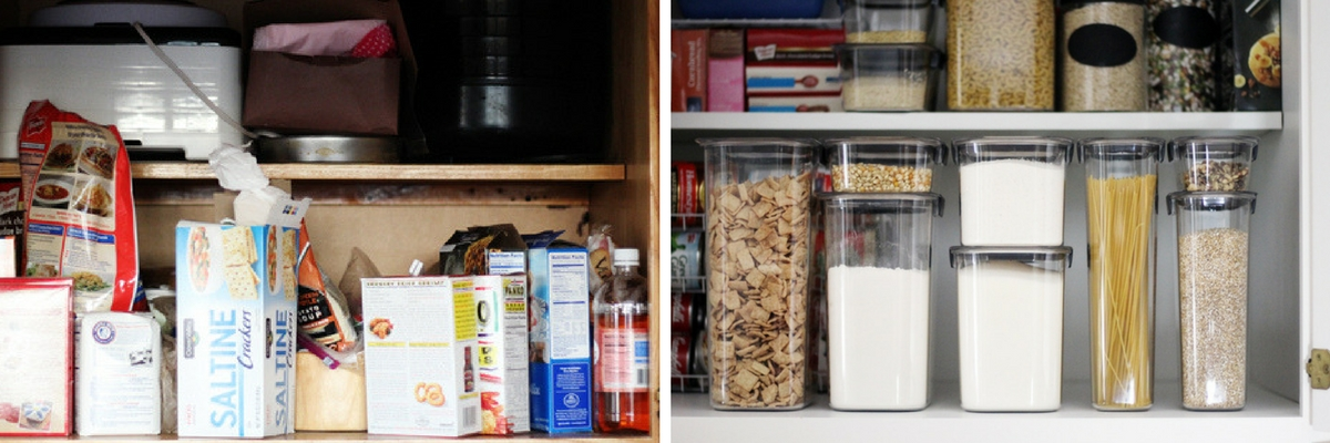 My perfect kitchen pantry makeover buy this cook that for Perfect kitchen organization
