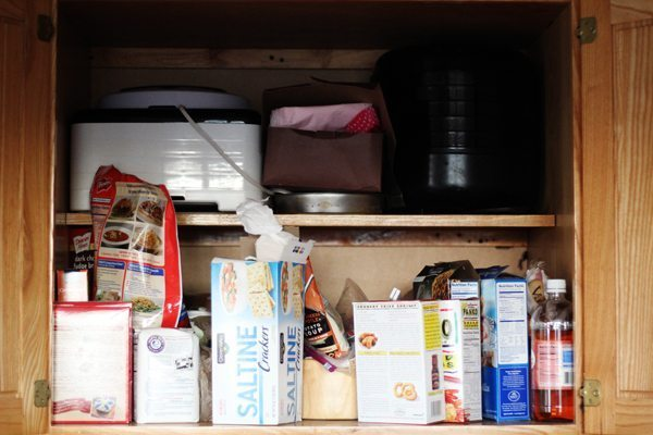 I struggle with clutter in my kitchen pantry.