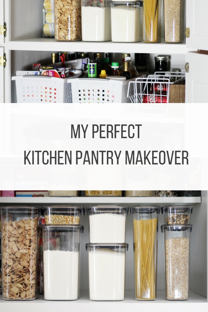 My Perfect Kitchen Pantry Makeover | Buy This Cook That