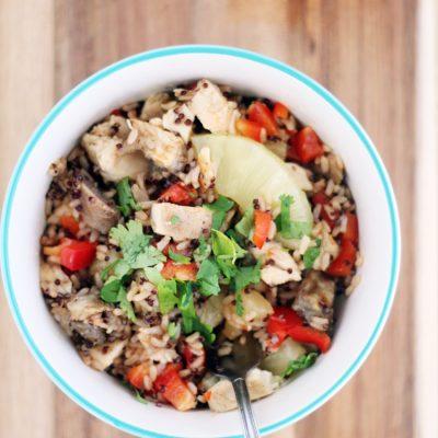 Sweet + Sour Hawaiian Quinoa Bowls