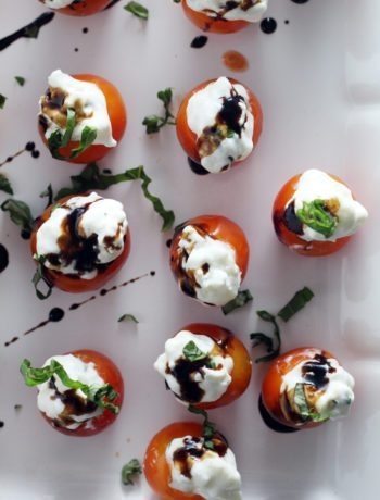 Everyone will love these Tomato Basil Caprese Bites as your next party appetizer.