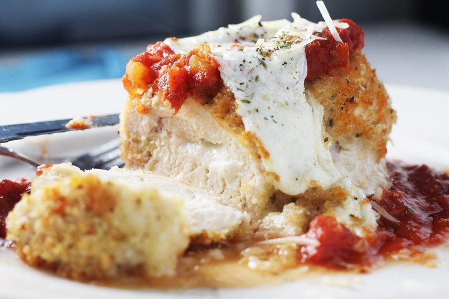 Hello there, gorgeous? Where have you been all my life? Baked Chicken Parmesan.