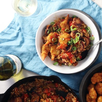 Creole Shrimp Jambalaya Bowls