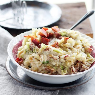 Irish Colcannon with Bacon