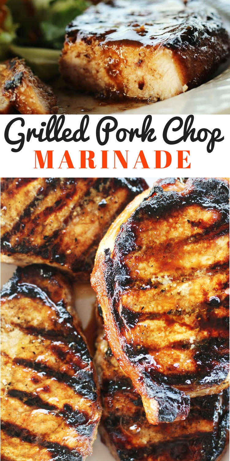 Easy Grilled Pork Chop Marinade Buy This Cook That