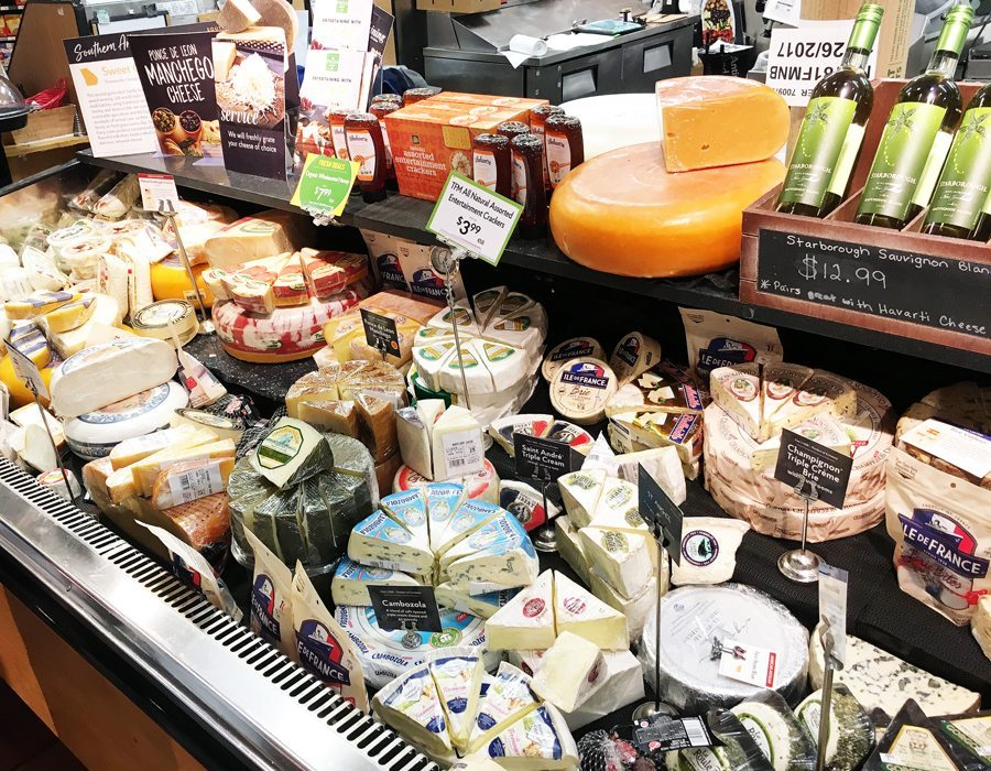 The Specialty Cheese Counter at The Fresh Market